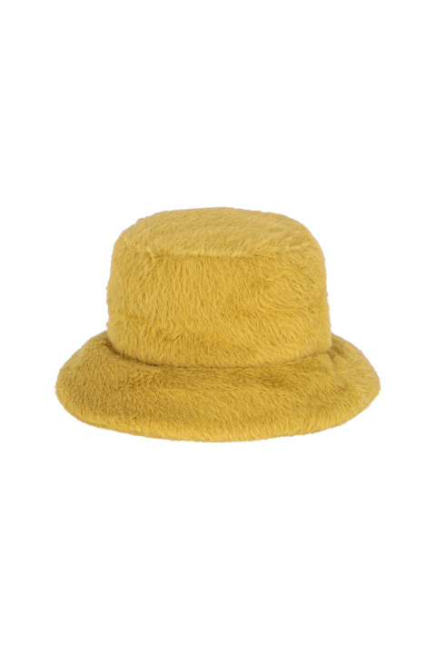 Hat 3005 in mustard cloth