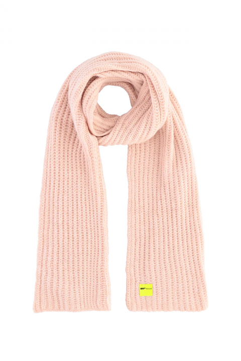 Scarf 3008 in powder wool blend