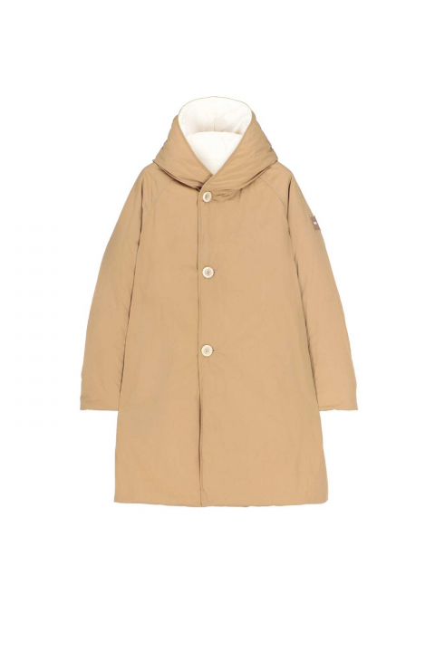 Parka 9410 in white/camel shape memory fabric