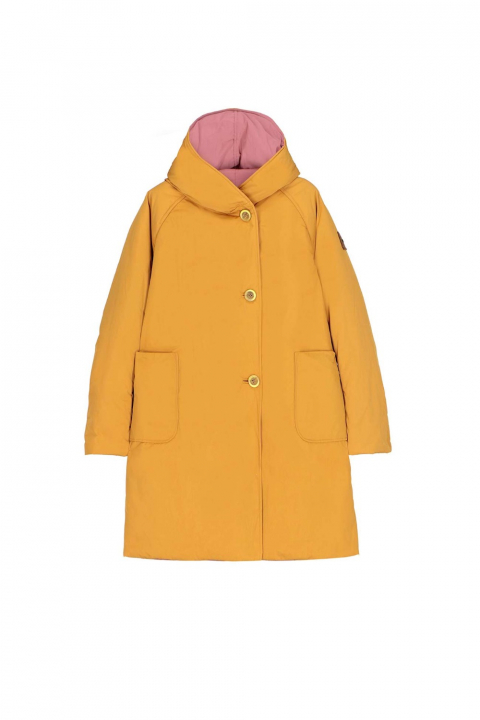 Parka 9410 in ochre/powder shape memory fabric