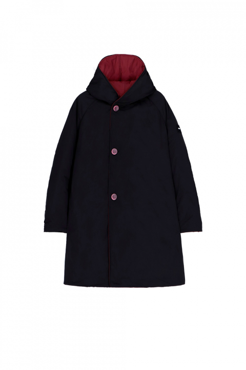 Parka 9410 in plum/black shape memory fabric