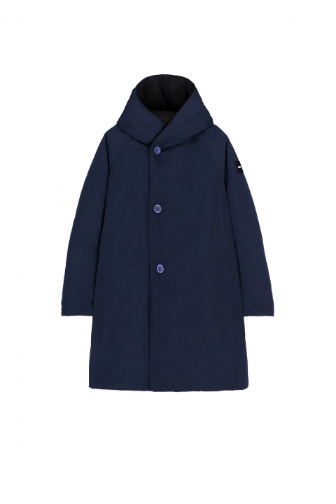 Parka 9410 in black/blue shape memory fabric