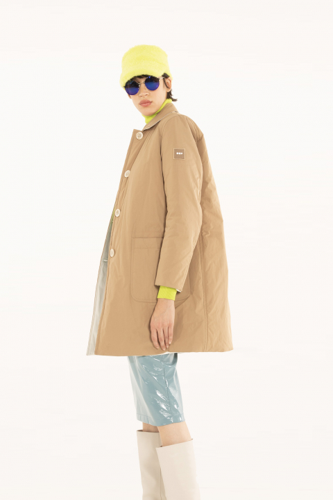 Raincoat 9600 in camel/white shape memory