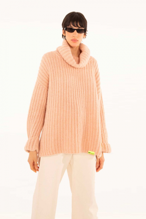 Sweater 4003 in powder wool blend