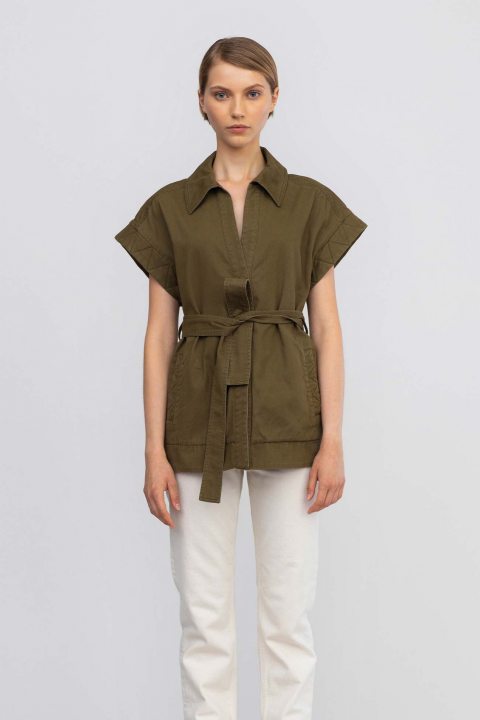 Gielt 9036 in cotton military green
