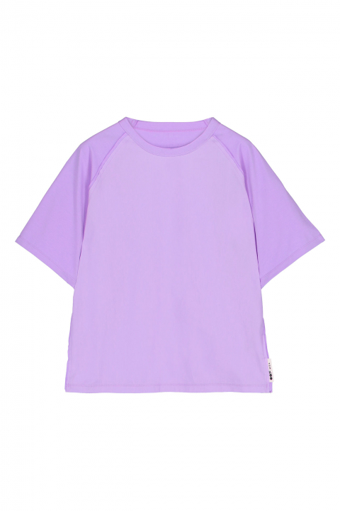 T-shirt 7000 in cotton and popeline lilac