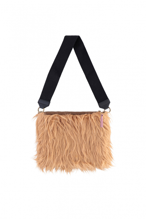 Bag 3003 in beige faux fur