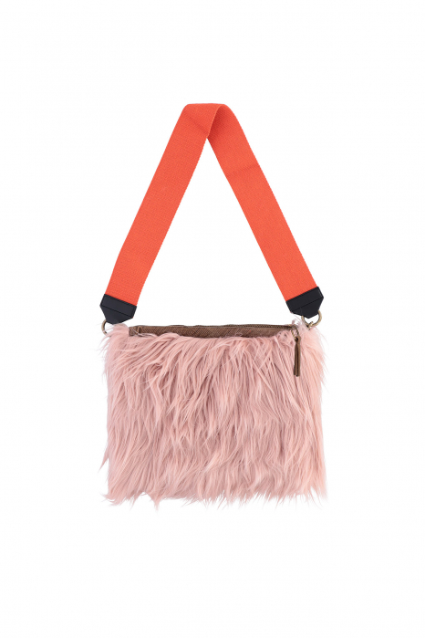 Bag 3003 in pink faux fur