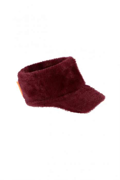 Plum Knitted Hat 3011