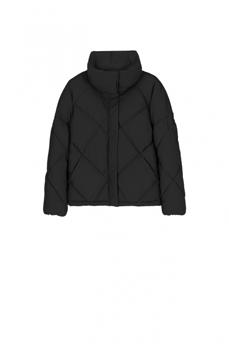 Padded jacket 9000 in black nylon