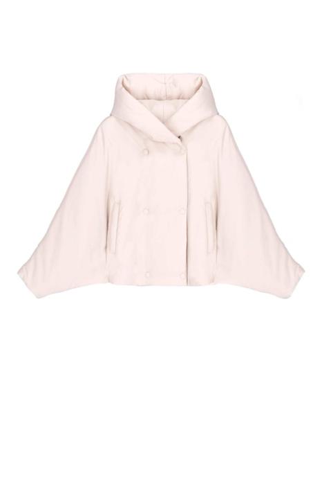 Short jacket 9001 in white nylon