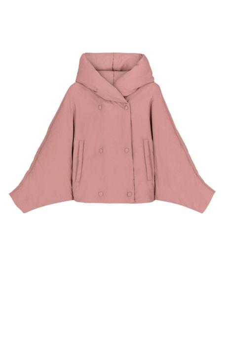 Short jacket 9001 in powder nylon