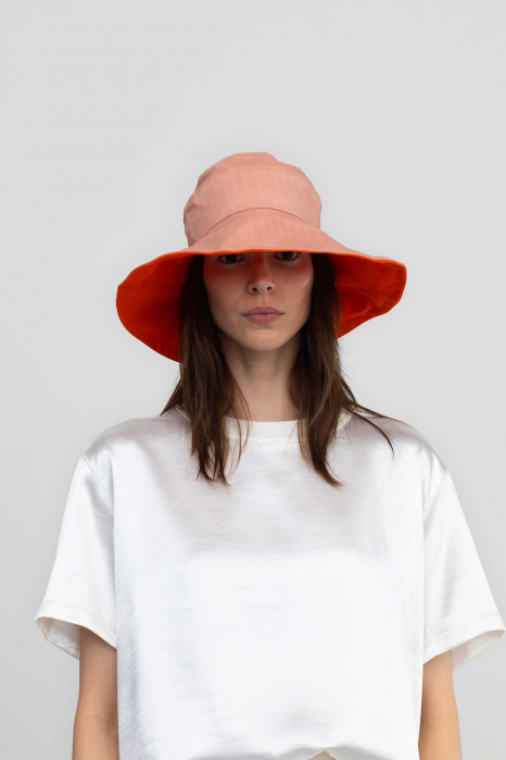 Reversible bucket hat 3014  pink