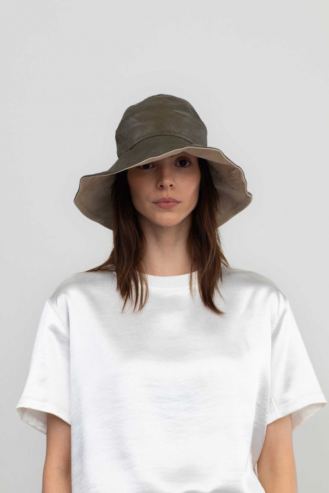 Reversible bucket hat 3014  military green