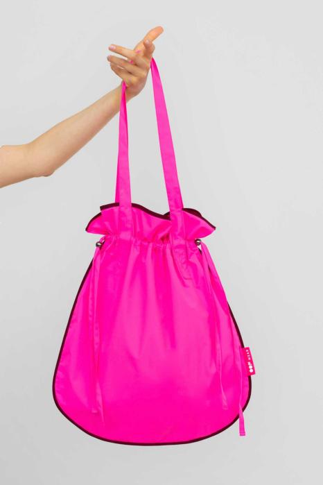 Bucket bag 3022 fuchsia fluo