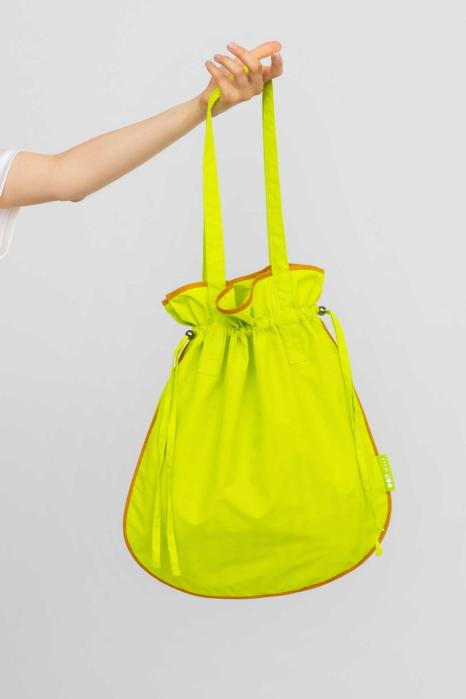 Bucket bag 3022 acid green